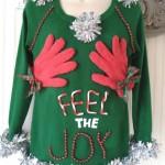 Feel The Joy Ugly Christmas Sweater